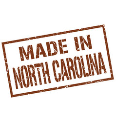 Made in north carolina stamp vector