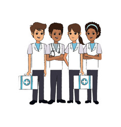 Medical professional people design vector