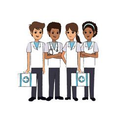 Medical professional people design vector