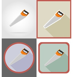 Repair tools flat icons 06 vector