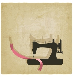 Sewing background vector
