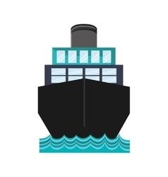 Ship boat transportation design vector