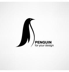 Penguin icon vector