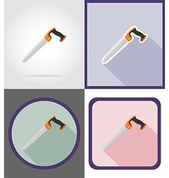 Repair tools flat icons 07 vector