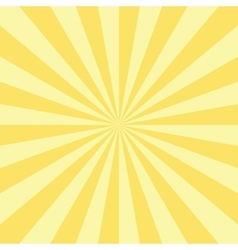 Abstract Radial Sun Burst Background vector image vector image
