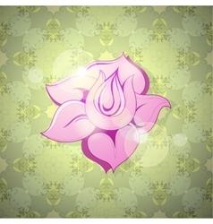 Flower still life vector