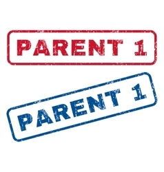 Parent 1 rubber stamps vector