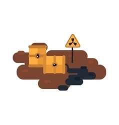 Nuclear waste vector