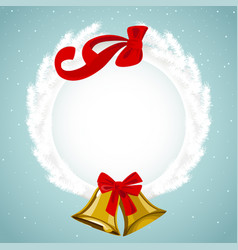 Ornament for christmas vector
