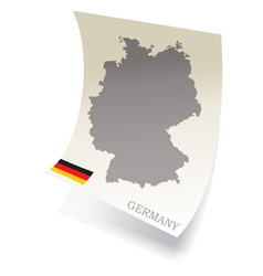 GERMANY vector image