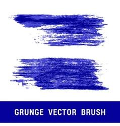 Set of grunge brushes vector