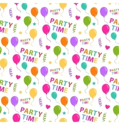 Party pattern seamless vector