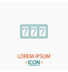 Fortune computer symbol vector