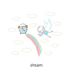 dream vector image vector image