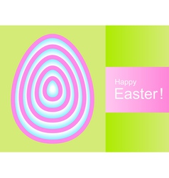 Happy Easter background vector image vector image