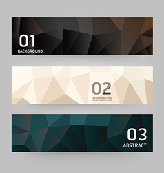 Labels abstract geometric design modern vector