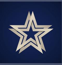 Paper star infinite loop vector