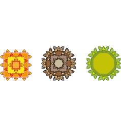 mandalas vector image