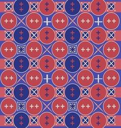 Javanese ethnic pattern vector image
