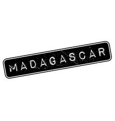 Madagascar rubber stamp vector