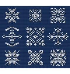 Ugly sweater seamless Pattern vector image