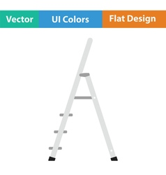Construction ladder icon vector