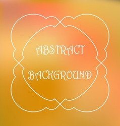 Abstract colorful blurred background Can use for vector image vector image