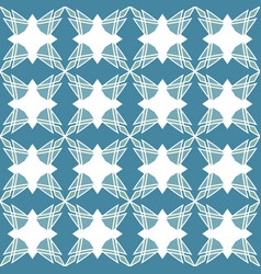 geometrical mosaic pattern seamless texture vector image vector image