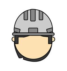 man construction worker vector image