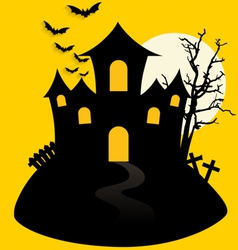 Happy halloween design background vector