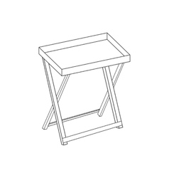 Serving table path vector