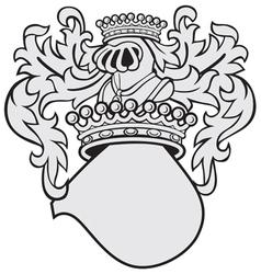 Aristocratic emblem no44 vector