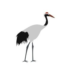 Crane icon flat style vector