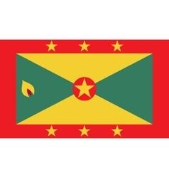 Grenada flag image vector