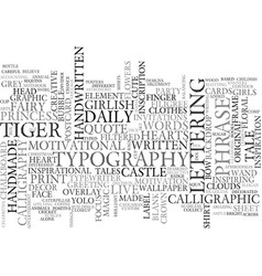 Once word cloud concept vector