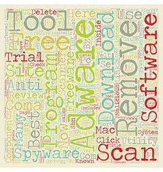 Best free adware and spyware removal tool vector