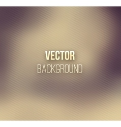 Brown color blurred background vector image vector image