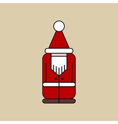 Christmas elf icon vector