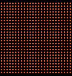 halloween polka dot background orange and vector image
