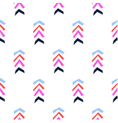 Herringbone bright berry color shapes color vector