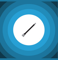 Isolated coupler flat icon pipeline vector