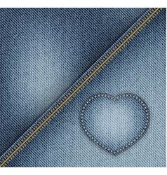 Jeans design vector