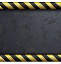 Metal warning background vector