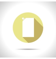 Flat mayonnaise pack vector