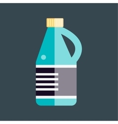 Bottle template blank package container vector