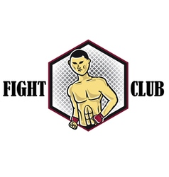 Fighters vector image