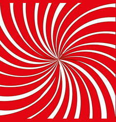 Red and white striped background vector