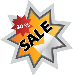 sale6 resize vector image vector image