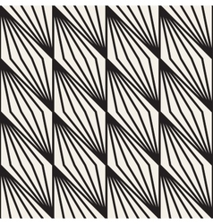 Seamless black and white stripe lines vector