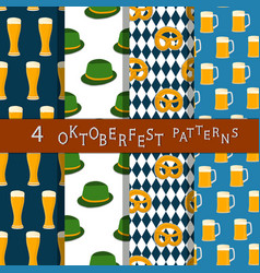 the theme oktoberfest vector image vector image